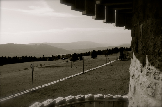 Vue vers le Chasseral