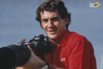 Ayrton Senna@Nikon F4s