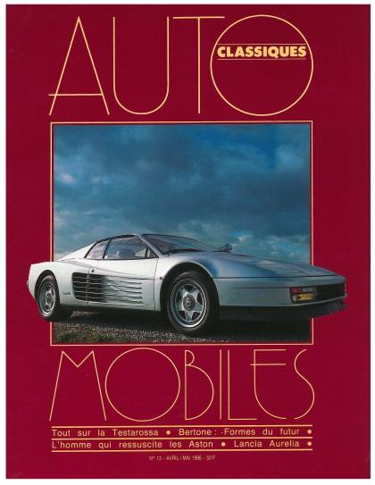 Automobiles classiques numéro.13 1986